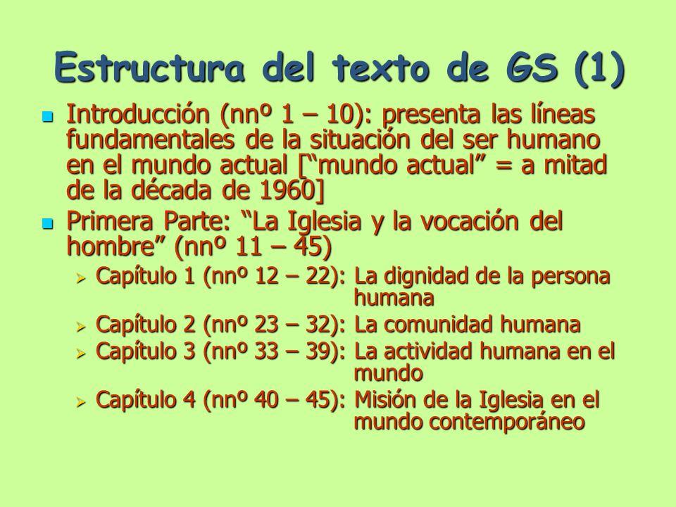 Estructura del texto de GS (1)