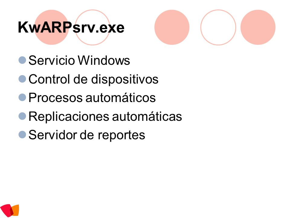 KwARPsrv.exe Servicio Windows Control de dispositivos