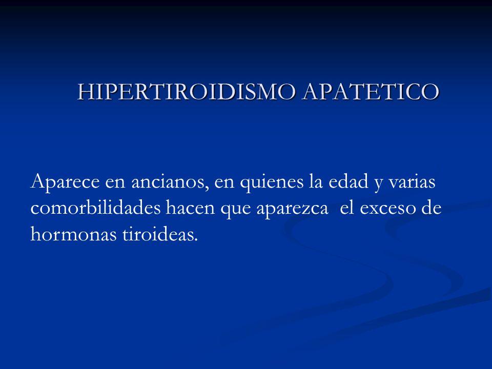 HIPERTIROIDISMO APATETICO