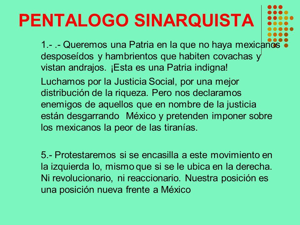 PENTALOGO SINARQUISTA