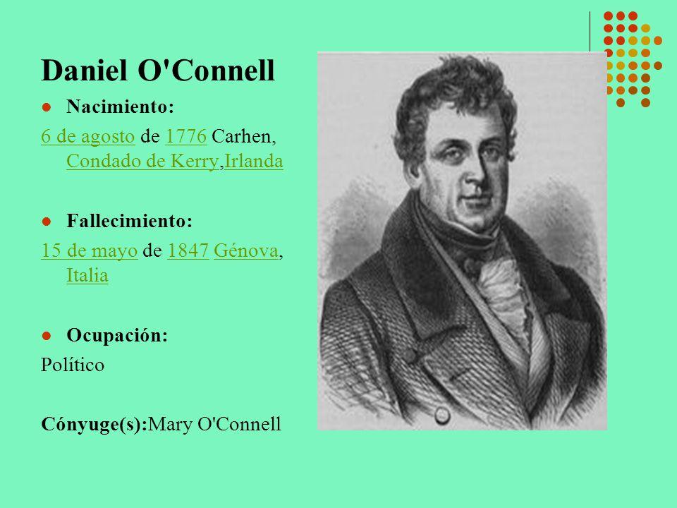 Daniel O Connell Nacimiento: