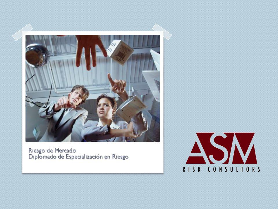 Riesgo de Mercado Diplomado de Especialización en Riesgo