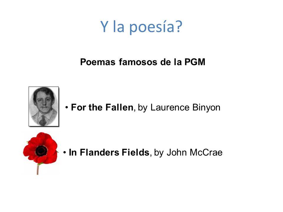 Poemas famosos de la PGM