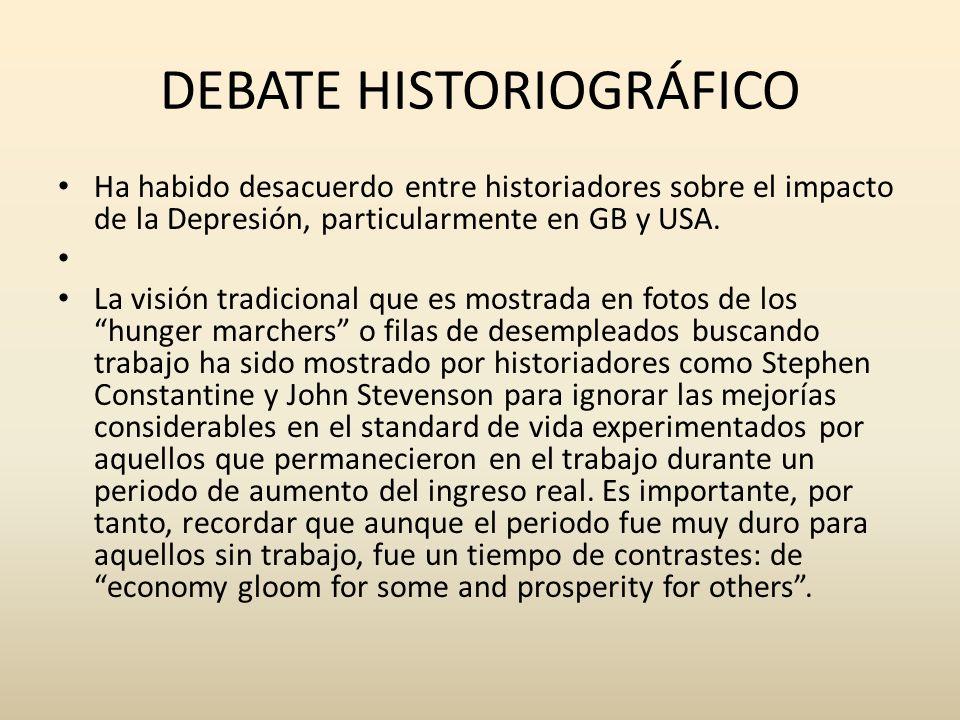DEBATE HISTORIOGRÁFICO