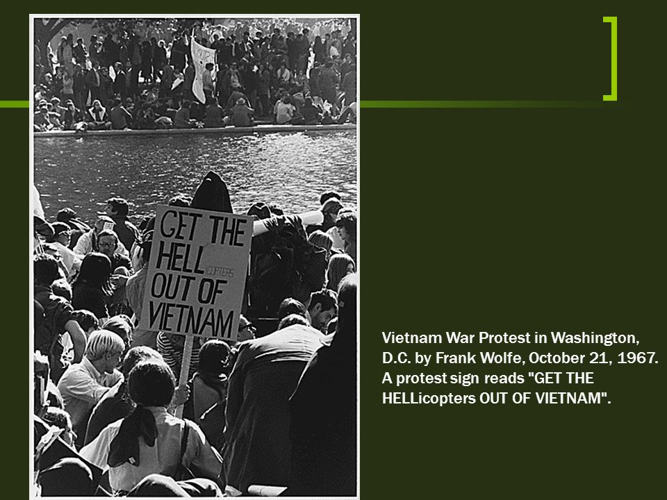 Vietnam War Protest in Washington, D. C