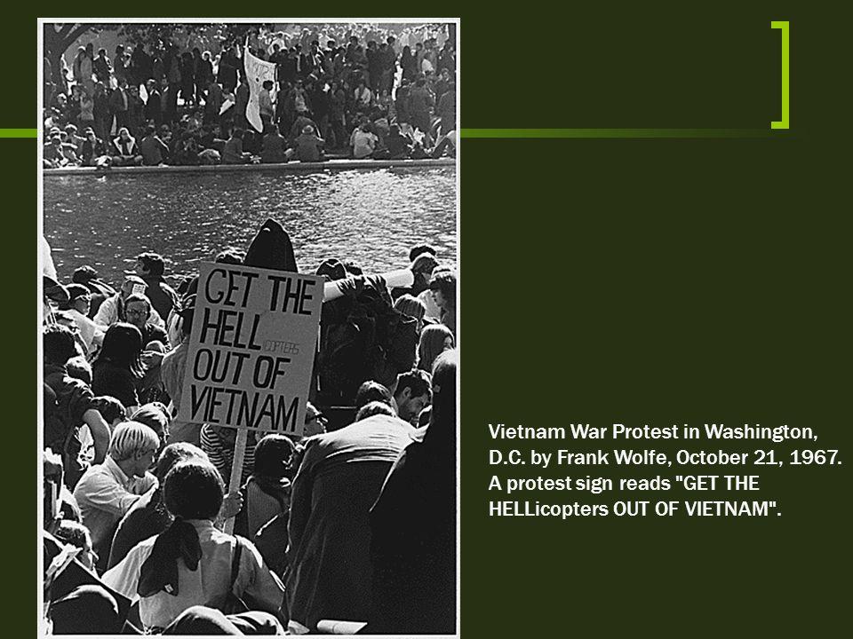 Vietnam War Protest in Washington, D. C