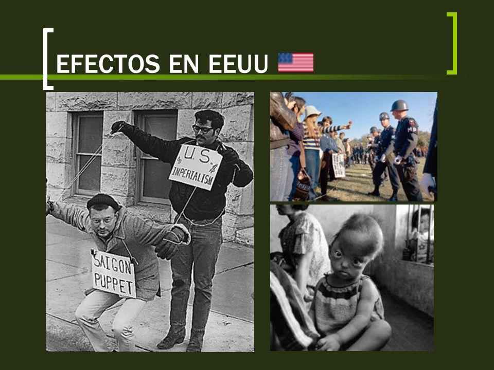 EFECTOS EN EEUU