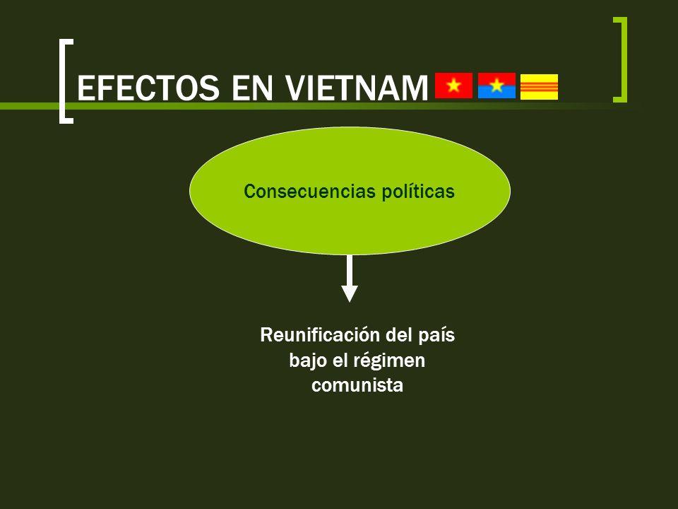 EFECTOS EN VIETNAM Consecuencias políticas