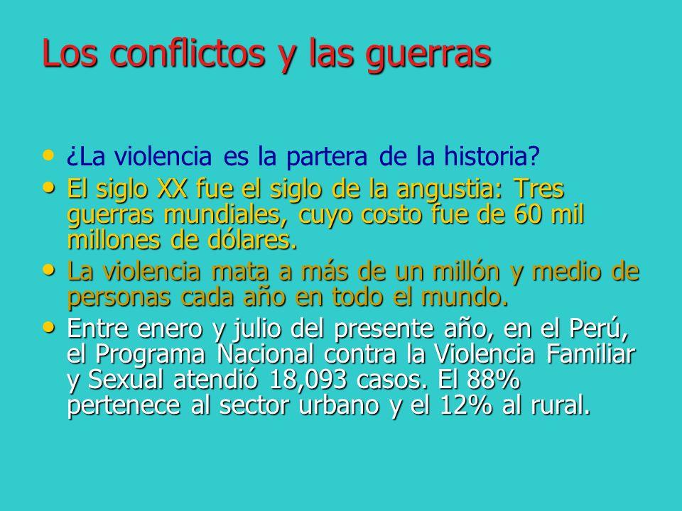 Los conflictos y las guerras