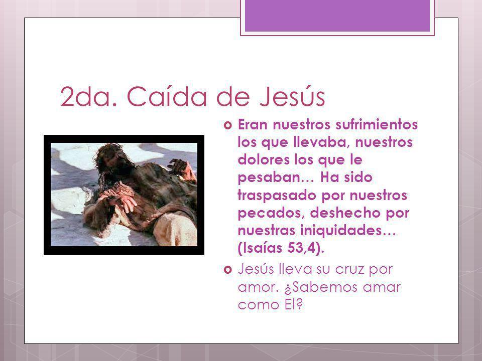 2da. Caída de Jesús