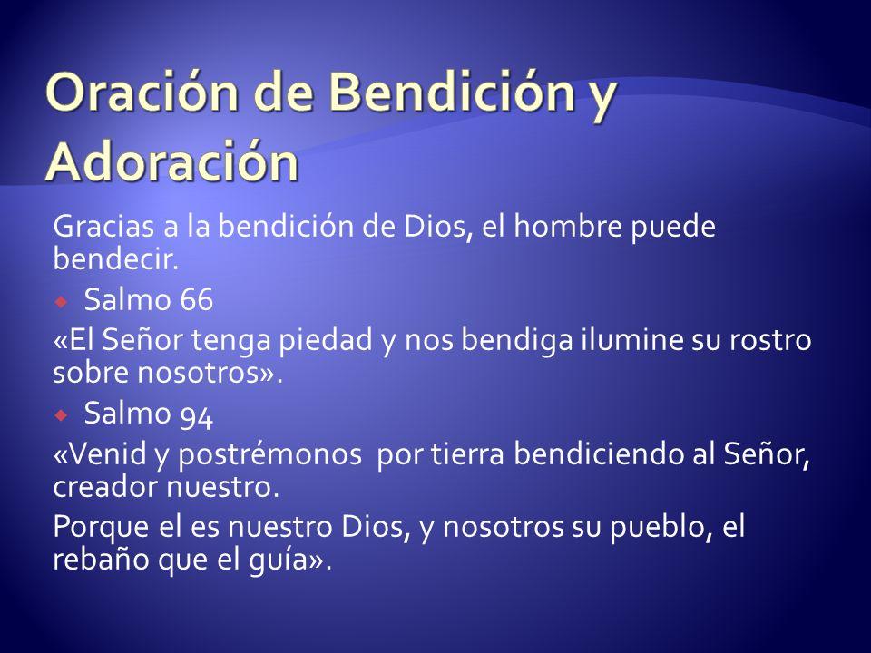 Oración de Bendición y Adoración