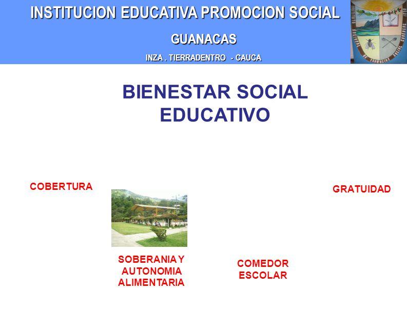 BIENESTAR SOCIAL EDUCATIVO