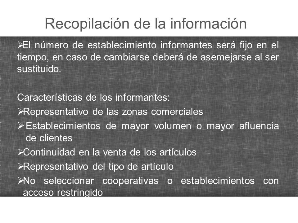 Recopilación de la información