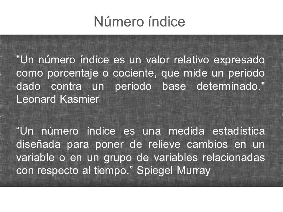 Número índice
