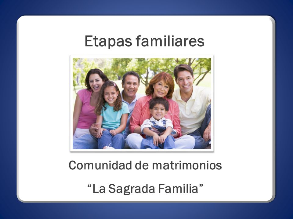 Comunidad de matrimonios