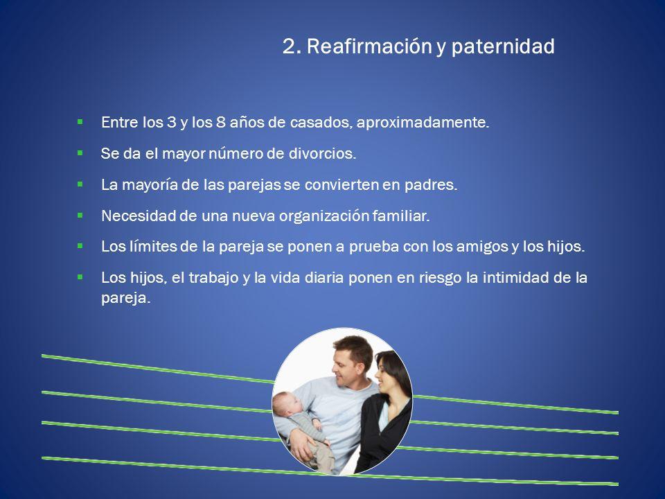 2. Reafirmación y paternidad