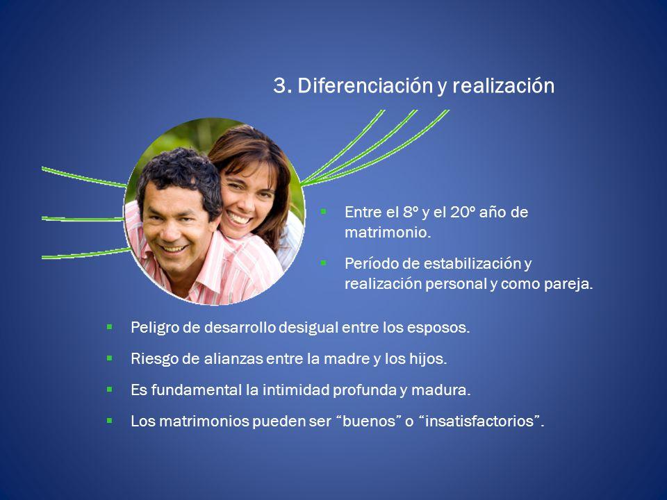 3. Diferenciación y realización