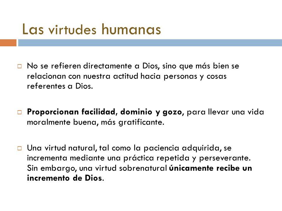 Las virtudes humanas