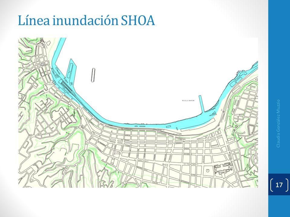 Línea inundación SHOA Claudia González Muzzio