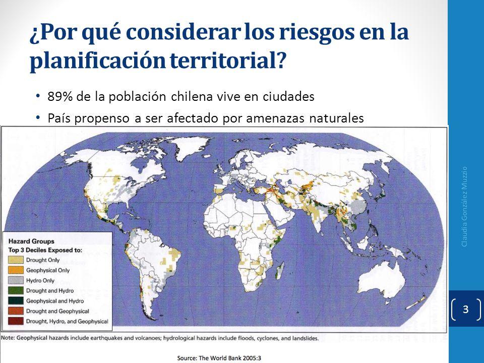 ¿Por qué considerar los riesgos en la planificación territorial