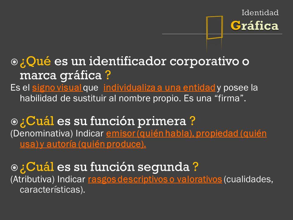  ¿Qué es un identificador corporativo o marca gráfica
