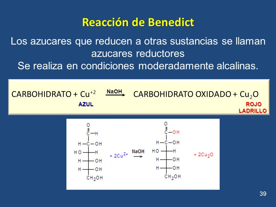 Se realiza en condiciones moderadamente alcalinas.