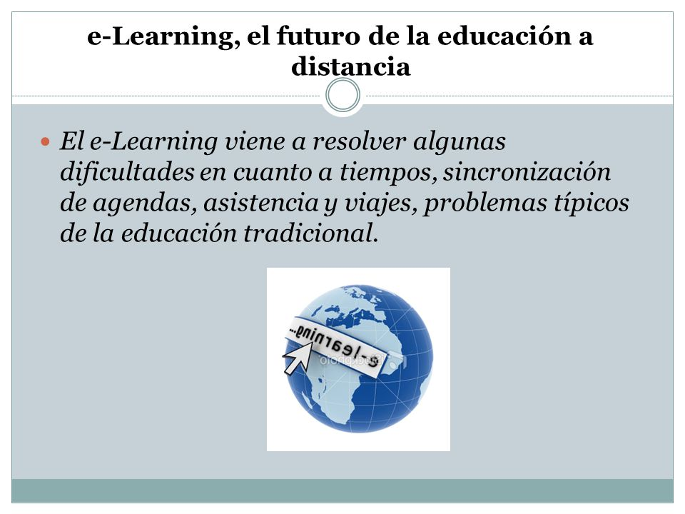 e-Learning, el futuro de la educación a distancia