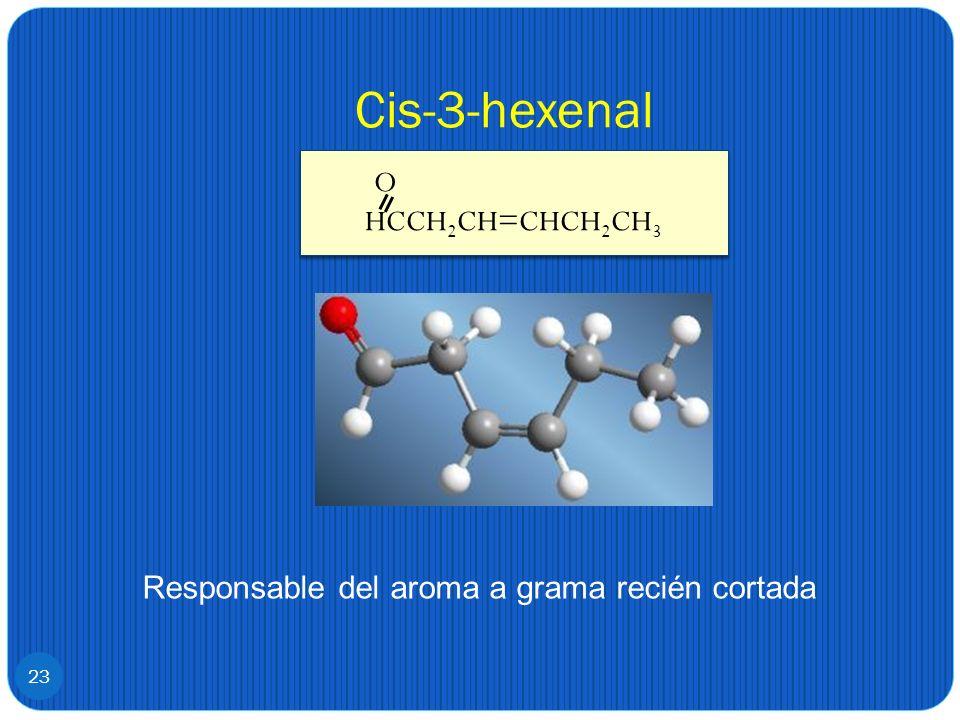 Cis-3-hexenal O HCCH2CH=CHCH2CH3