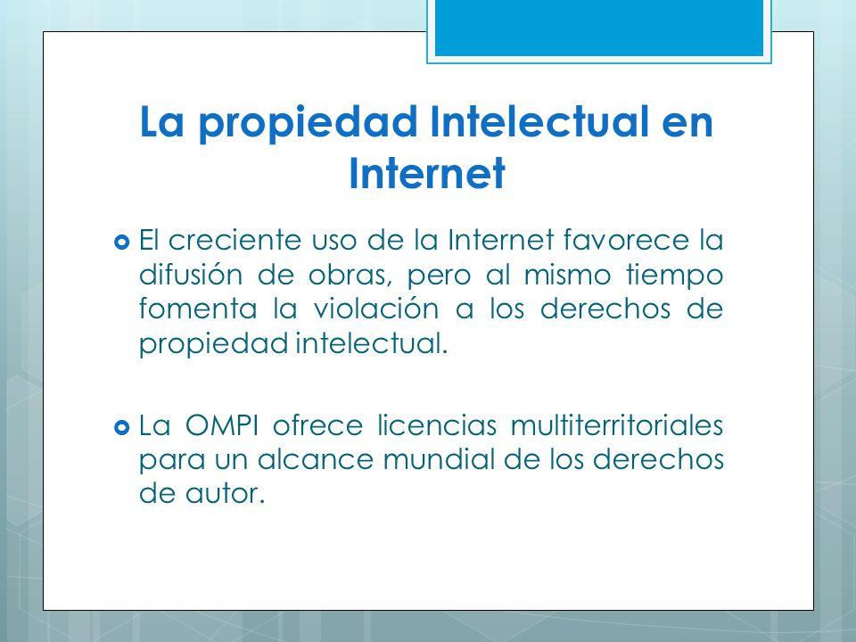 La propiedad Intelectual en Internet