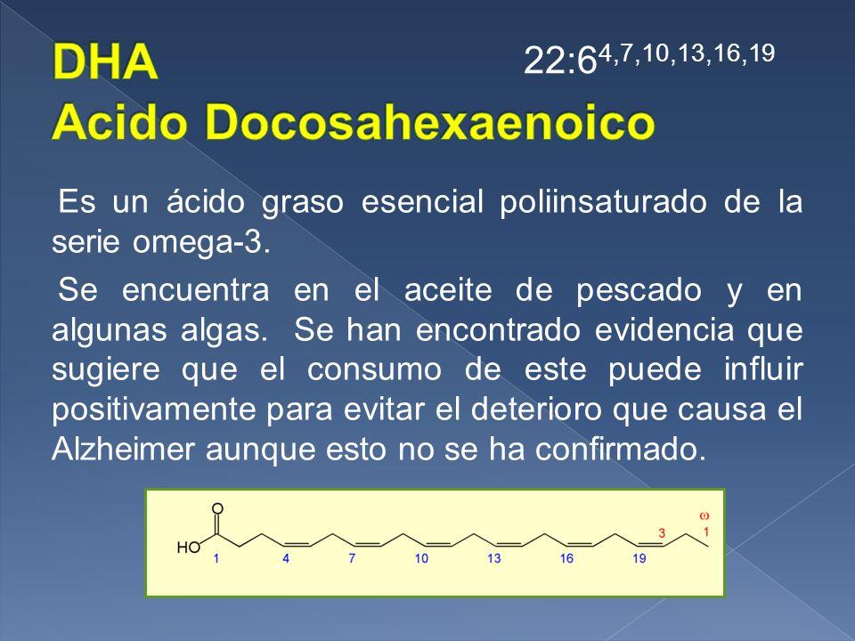 DHA Acido Docosahexaenoico