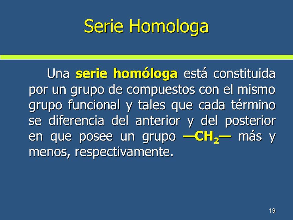 Serie Homologa