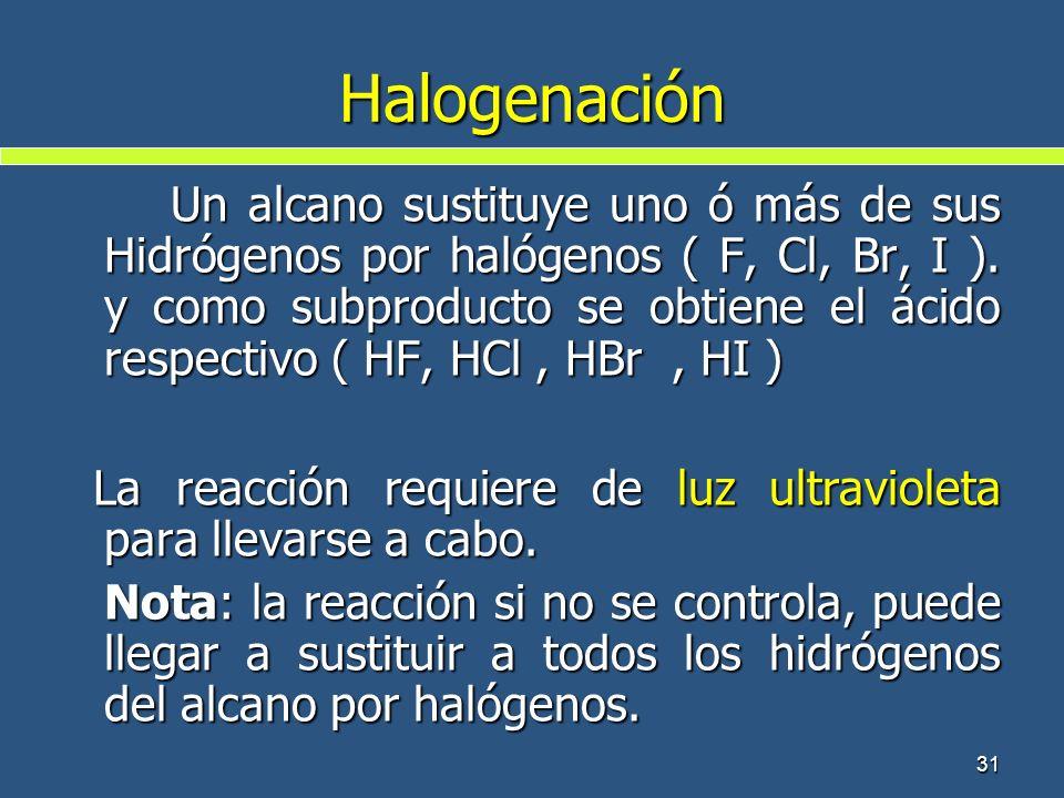 Halogenación