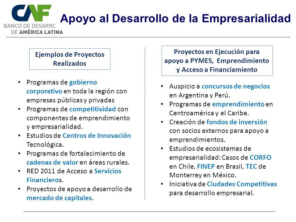 Apoyo al Desarrollo de la Empresarialidad