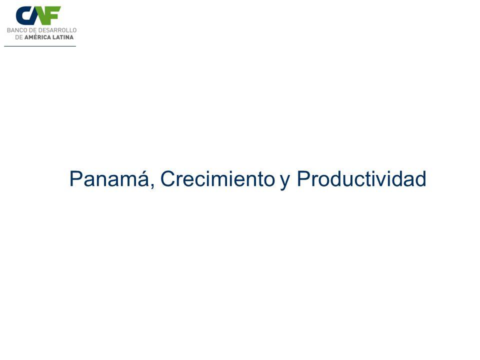Panamá, Crecimiento y Productividad