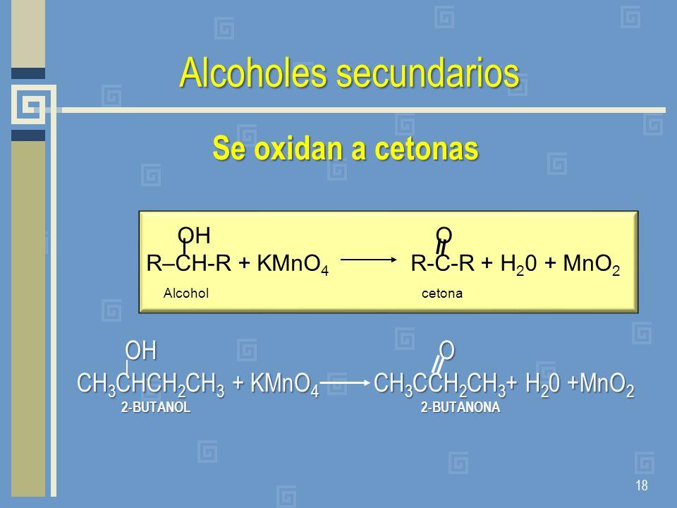 Alcoholes secundarios