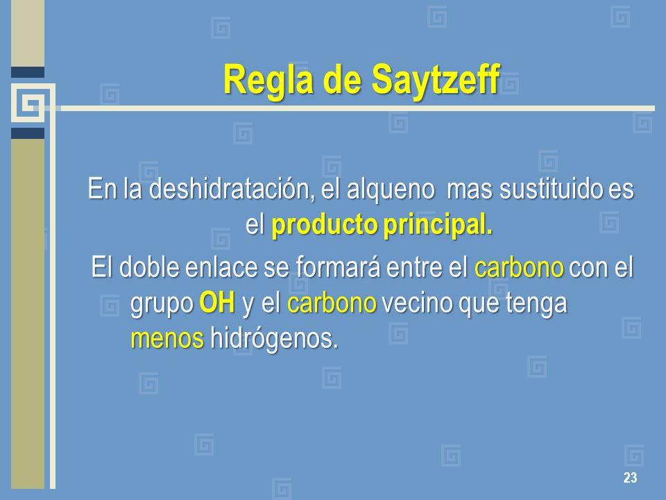 Regla de Saytzeff