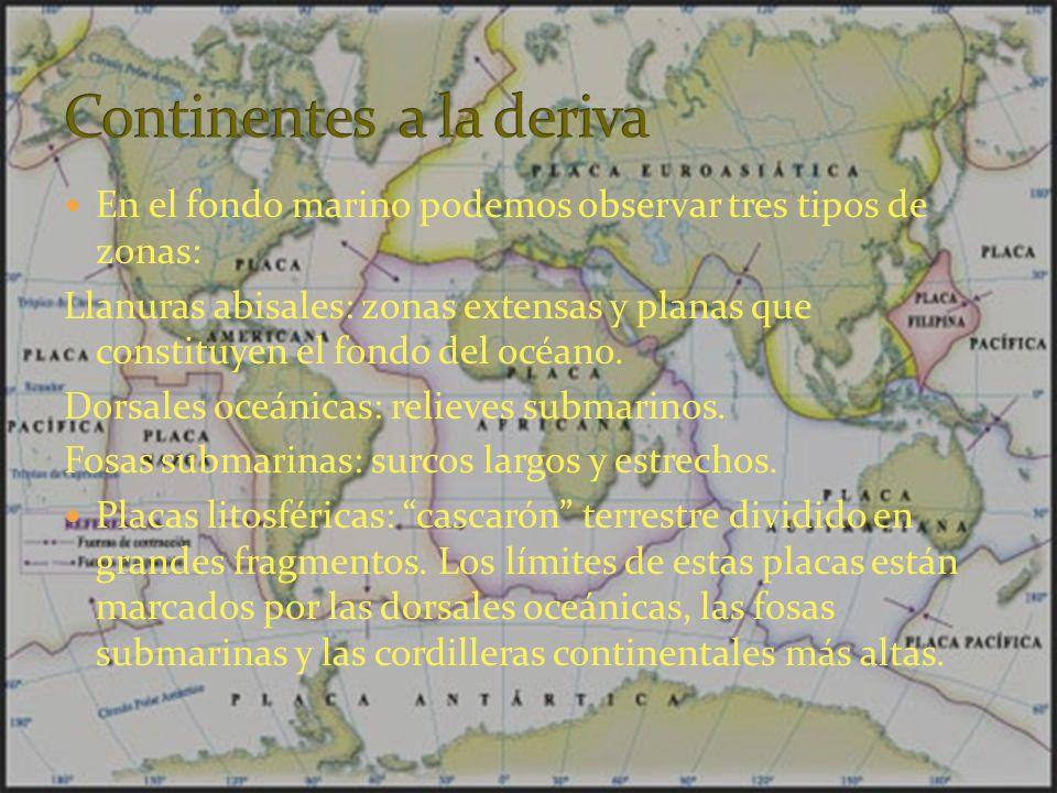 Continentes a la deriva
