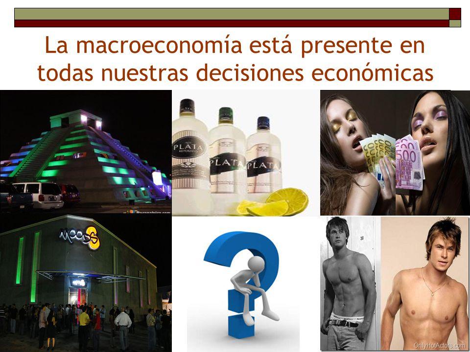 La macroeconomía está presente en todas nuestras decisiones económicas