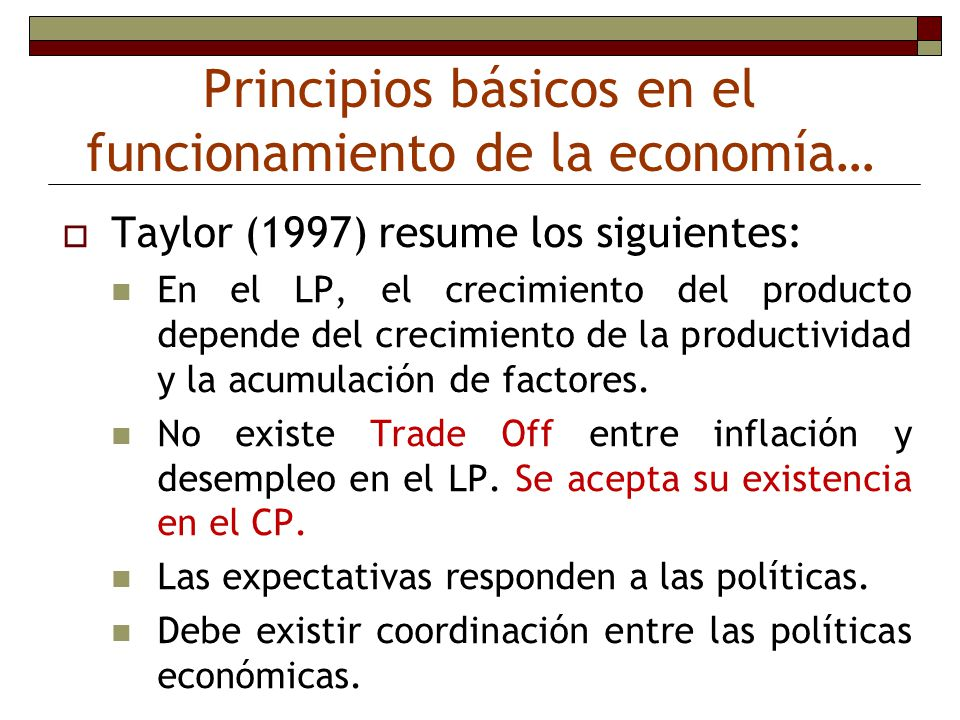 Principios básicos en el funcionamiento de la economía…
