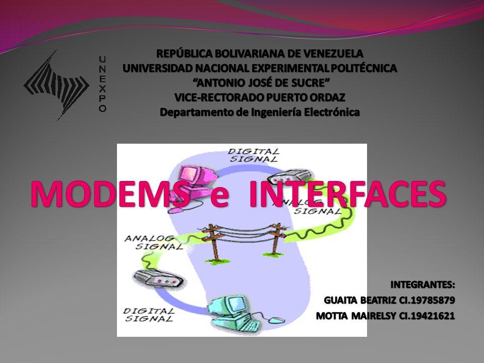 REPÚBLICA BOLIVARIANA DE VENEZUELA UNIVERSIDAD NACIONAL EXPERIMENTAL POLITÉCNICA ANTONIO JOSÉ DE SUCRE VICE-RECTORADO PUERTO ORDAZ Departamento de Ingeniería Electrónica