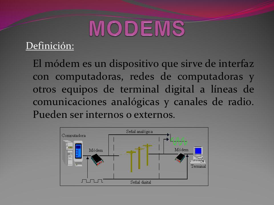 MODEMS Definición: