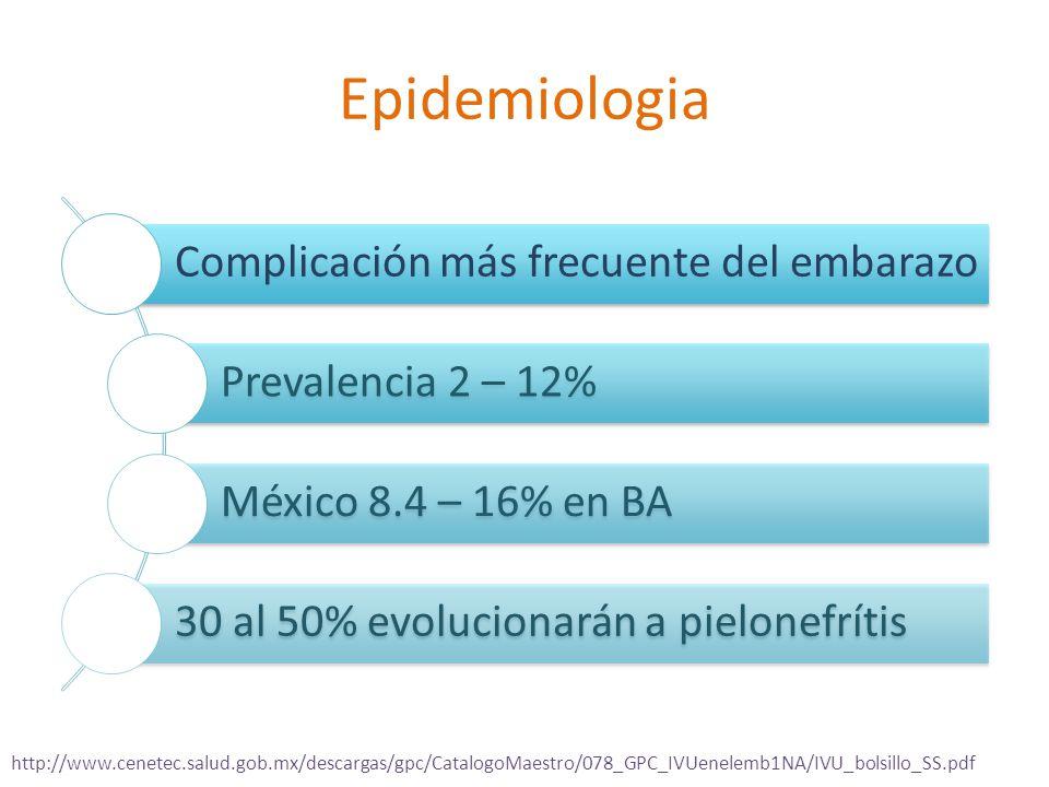 Epidemiologia Complicación más frecuente del embarazo