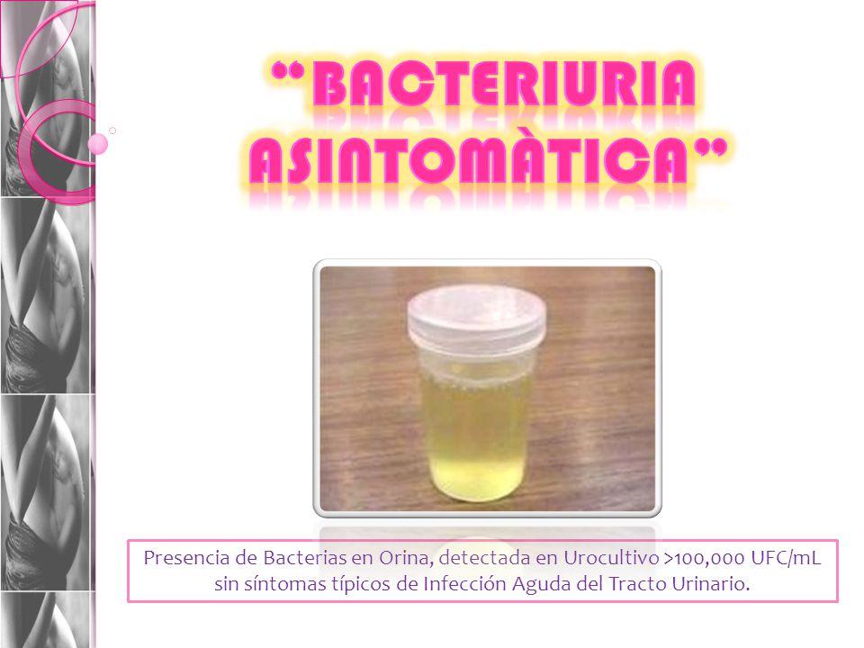 bacteriuria asintomàtica