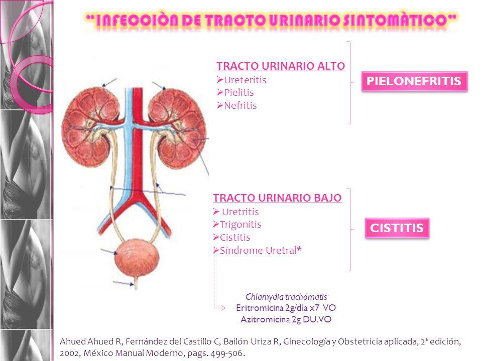 INFECCIÒN DE TRACTO URINARIO SINTOMÀTICO