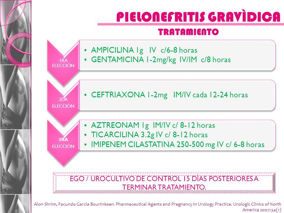 PIELONEFRITIS GRAVÌDICA