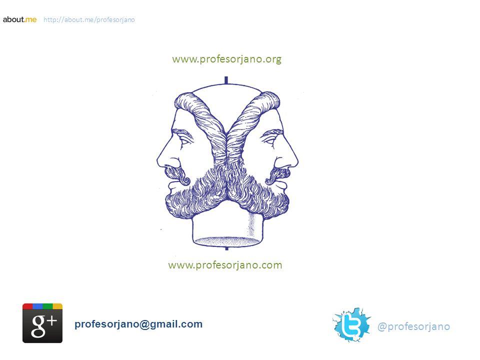 www.profesorjano.org www.profesorjano.com @profesorjano