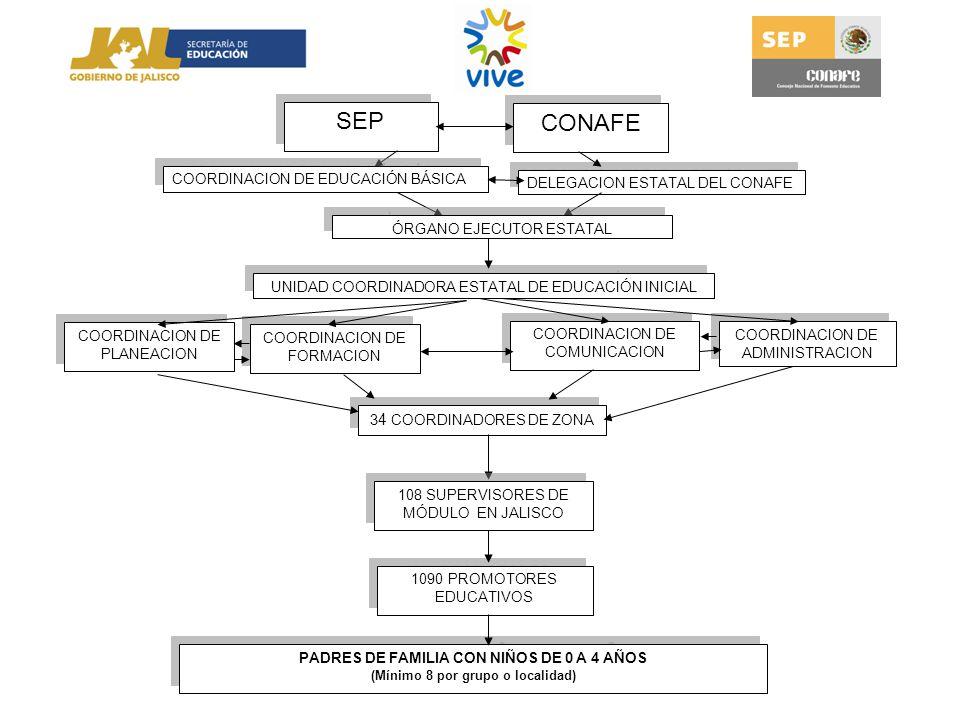 SEP CONAFE COORDINACION DE EDUCACIÓN BÁSICA