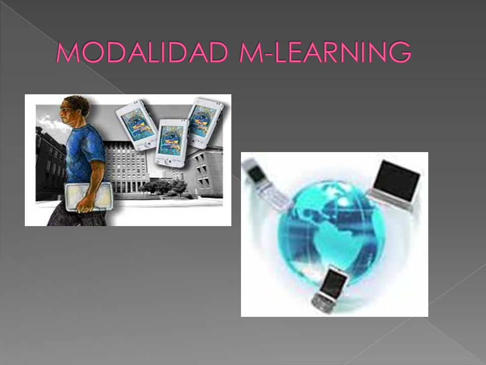 MODALIDAD M-LEARNING