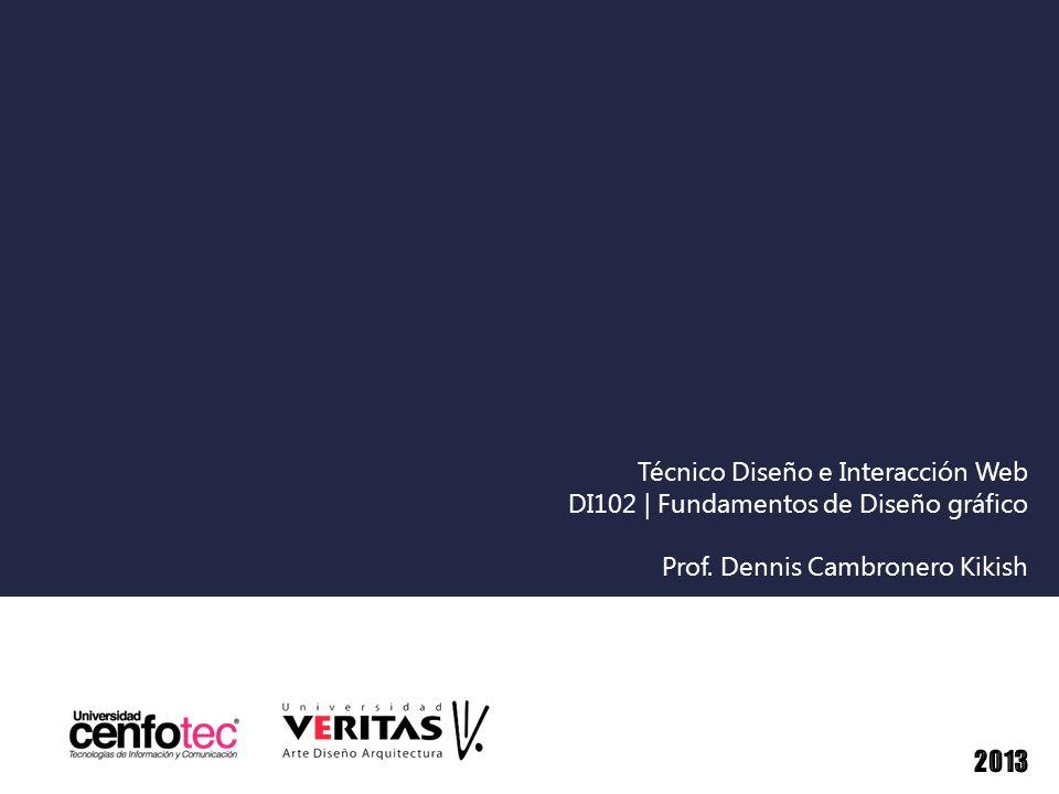 Técnico Diseño e Interacción Web DI102 | Fundamentos de Diseño gráfico