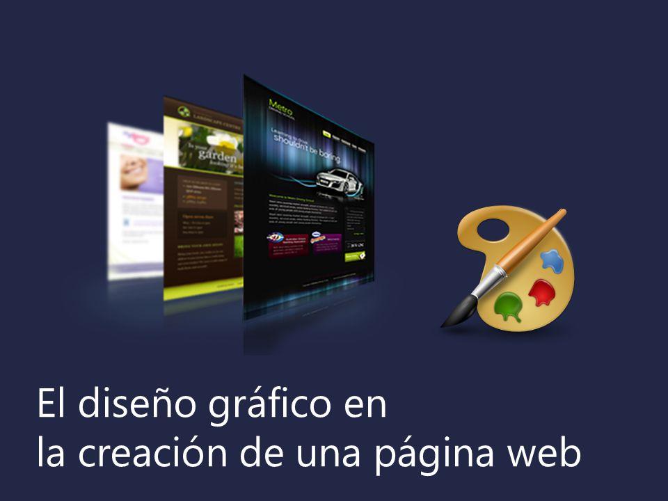 El diseño gráfico en la creación de una página web